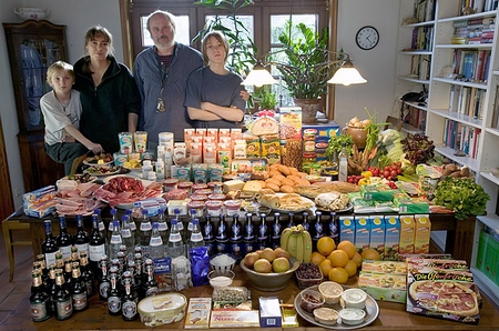 Nourriture famille Menzel
