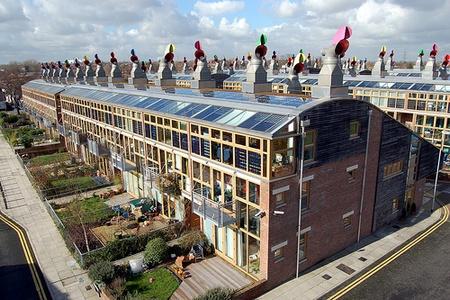 maisons écologiques BedZED