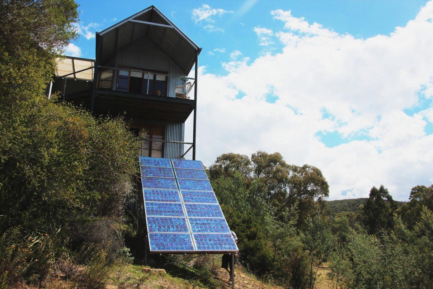 panneau solaire pour maison cool elegant banque duimages. Black Bedroom Furniture Sets. Home Design Ideas