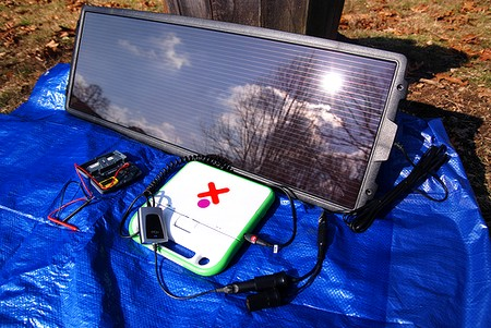 Mini panneau solaire portable