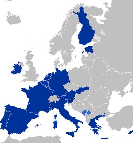 Zone Euro 2011 - Monnaie euro