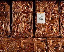 cuivre prêt à être recyclé