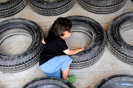 le recyclage de pneu