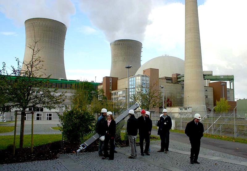 Centrale nucléaire en Allemagne