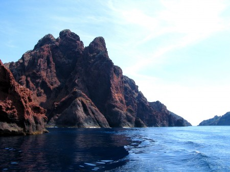 Scandola en Corse