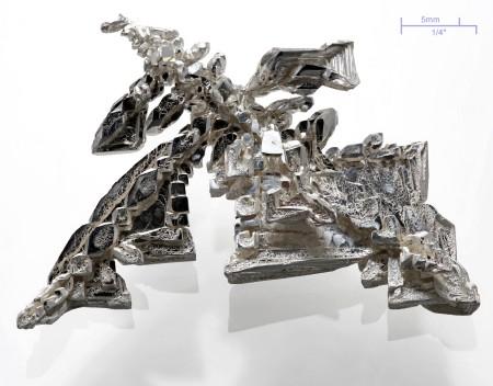 Argent en cristaux