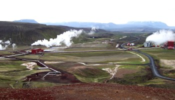 Station Géothermie en Islande