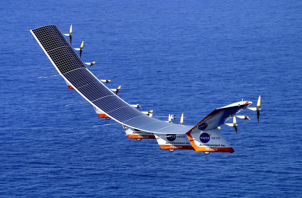 Prototypoe d'avion solaire