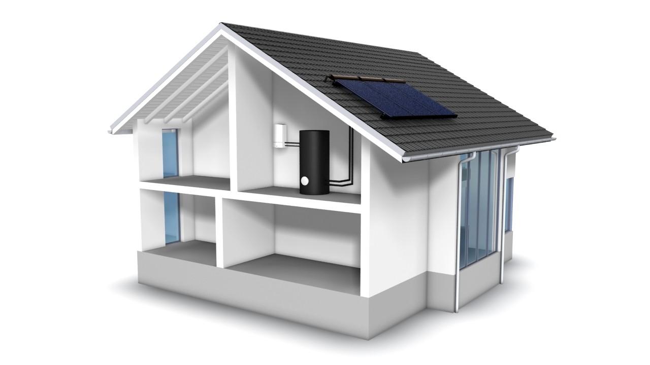 Analyse des co ts et rentabilit du solaire thermique conomie solidaire - Prix panneau solaire pour maison ...