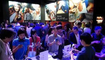 Nouveau produit Samsung pour captiver l'attention des masses