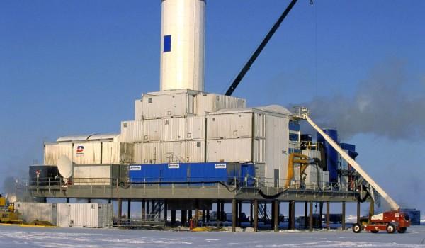 plateforme forage hydrate de méthane
