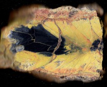Uranium dans la pierre